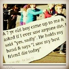 saddest thing ever