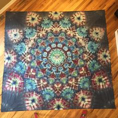 """Tapestry, 90"""" x 90"""" Muslin Cotton"""