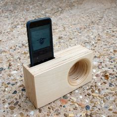 DOCK Box - Acoustic iPhone Amplifier by Index Drums