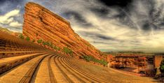 Red Rocks Park and Amphitheater is an outdoor concert venue in Denver Colorado. Denver Colorado, Red Rocks Colorado, Longmont Colorado, Colorado Springs, Oh The Places You'll Go, Great Places, Beautiful Places, Places To Visit, Amazing Places