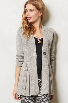 Isabella Cardigan $118.00 www.anthropologie.com