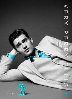 Gabriel Chytry, Rainer Andreesen and Vladimir Ivanov fronts the Spring/Summer 2013 campaign of Perry Ellis.