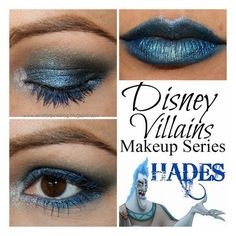 Disney villains makeup ❤ liked on Polyvore featuring beauty products, makeup, disney makeup and disney