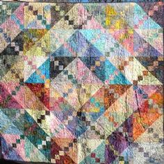 Bermuda Sunrise Quilt Pattern Download by Frog Hollow Designs (from ConnectingThreads.com)