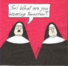 Catholic humor / nuns  :)