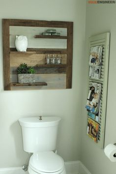 Scrap Wood Shelf { DIY Plans } | rogueengineer.com #DIYScrapWoodShelf #DecorDIYplans
