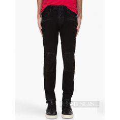 Indie Designs Men Cotton Zipper Biker Cargo Pants