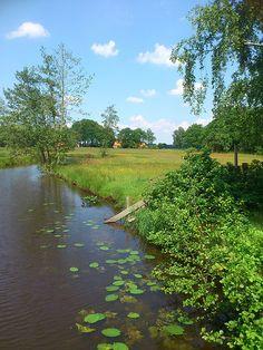 Westerwolde, vandaag - Aa river, Groningen