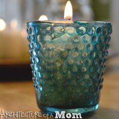 Colored Mercury Glass