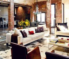 industrial interior design | Blogger: Distinguishing Between Modern to Industrial Interior Design ...