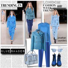 LFW SS15 Trend Blue Shades
