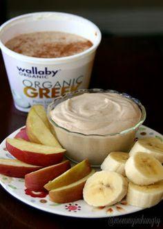 MIH Recipe Blog: Greek Yogurt Peanut Butter Fruit Dip {Super good!}