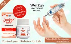 Managing Your Diabetes with Wellzyn Health Care #Ganesh_Goli  Features: Control Diabetes, Keeps heart healthy, Control frequent urination, excessive thirst and lethargy, Prevents from Hypoglycemia, Acts as Liver stimulator and Anti-oxidant.   http://wellzyn.in/ganesh-goli.php