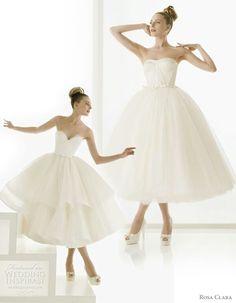 Rosa Clara ballerina wedding dress