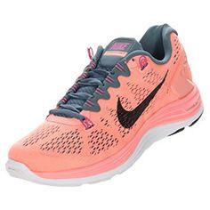 Women's Nike Free 3.0 v5 Running Shoes| FinishLine.com | Armory Slate/Black/Atomic Pink