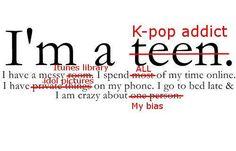 I'm a Kpop addict...