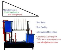 #Atico #Export is one of the prime #Fluid #Mechanics #Lab #Manufacturers, Exporters and Suppliers industries in India who is becomes more popular in the global market. Get #Francis #Turbine, #Methods of #Flow #Measurement, #Water #Hammer #Apparatus, #Multi-#Purpose #Flume, #Hydraulic #Test #Bench and other #fluid #mechanics #instruments.