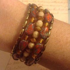 Earth Tones 5 Wrap Bracelet   eBay