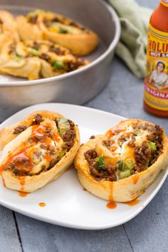Beef Taco Roll-Ups -- 23 Easy Crescent Roll Recipes – Best Things to Make with Crescent Rolls : countryliving Ground Beef Dishes, Ground Beef Recipes Easy, Ground Meat, Ground Turkey, Taco Roll Ups, Crescent Roll Recipes, Cresent Roll Appetizers, Taco Crescent Rolls, Brunch