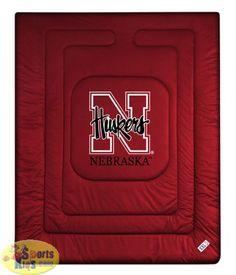 Nebraska Bedding - Nebraska Cornhuskers Bedding - NCAA Comforter - SportsKids Superstore