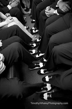 Black, White, Black, White...#chicagoweddings
