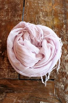 Chan Luu - Lavender Frost Cashmere + Silk Blend Scarf