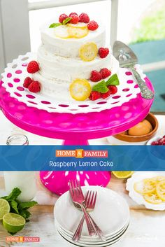 325 best recipes season 4 images on pinterest hallmark channel a cake that will satisfy your sweet tooth debbie matenopoulos creates a refreshing raspberry lemon forumfinder Choice Image