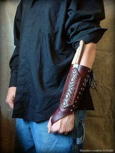 Archery Bracer. The detailing on it makes it look similar to a bracer for Peter Jackson's interpretation of Tolkien dwarves.
