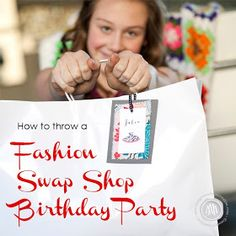 MargotMadison: Clothing Swap Fashion Party for Tweens and Teens