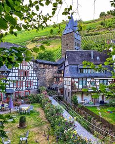 Bacharach Germany, India Palace, Places To Travel, Places To Go, Ancient Greek Architecture, Gothic Architecture, Rhineland Palatinate, England Ireland, Dream Home Design