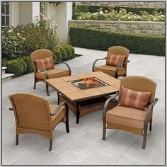 Statuette Of Better Homes And Gardens Patio Cushions