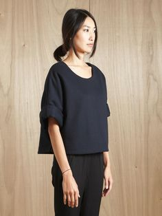 Structured Top + Trousers