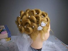 Penteado para noivas com uso de pulseiras - Bridal hairstyle using bracelets - YouTube