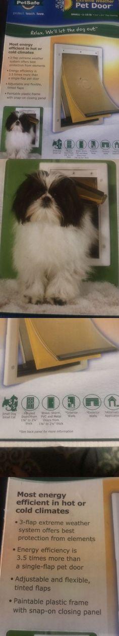 Doors And Flaps 116379 Petsafe Large Extreme Weather Dog Pet Door