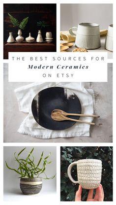 Modern Ceramics on Etsy