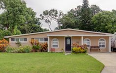 Great Ranch home style on Davis Islands, that has been expanded heated square feet.