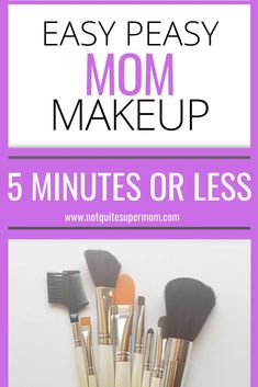 The best makeup for tired moms is here! Check out this easy mom makeup routine I do daily, all with drugstore makeup! Quick Makeup Routine, Everyday Makeup Routine, Beauty Care, Beauty Hacks, Beauty Tips, 5 Minute Makeup, Nyx Butter Gloss, Makeup For Moms, Mom Hairstyles