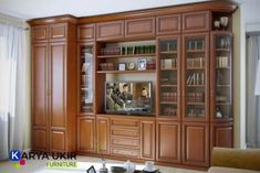 Jual bufet jati minimalis jepara terbaru | Toko bufet ukir mewah murah Bedroom Cupboard Designs, Bedroom Closet Design, Unique House Design, House Front Design, Wooden Main Door Design, Modern Tv Wall Units, Indian House Plans, Indian Living Rooms, Wall Shelves Design
