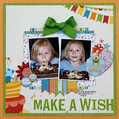 Make a Wish - My Creative Scrapbook - Scrapbook.com