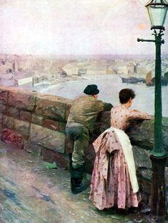 ANDERS ZORN (1860/1920), PITTORE SVEDESE – Quando si tratta delle competenze necessarie per catturare la luce e i colori - Meeting Benches