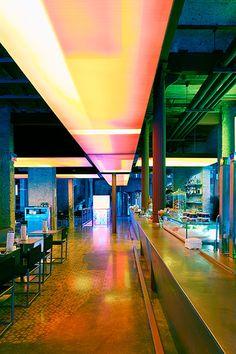 A gastronomy and cultural center for Catalan beer company Moritz. Photo Iñigo Bujedo Aguirre. Jean Nouvel project. Barcelona, Catalonia