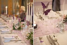 Saaldeko, Tischdekoration, Tischdeko, Hochzeitsdekoration, Hochzeitsdeko, Blumenvase,  DIY Hochzeit, Stuhlhussen, Klassisch