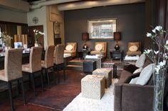 nail+salon+design+ideas+pictures | ... and chic atmosphere and artwork from every seat inside The Nail Bar