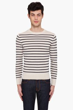 4f02d41799ca  APC  strippedfine  sweater  knit  menswear  clothing  SSense  245 Gents