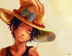 one piece, ace, and anime image