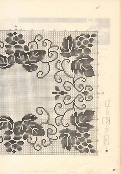 This Pin Was Discovered By Filet Crochet Charts, Crochet Doily Patterns, Crochet Cross, Thread Crochet, Crochet Motif, Crochet Designs, Crochet Doilies, Crochet Yarn, Embroidery Patterns