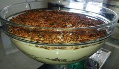 Deilig dessert som er like god alle årstider! Pudding Desserts, Pudding Recipes, European Cuisine, Stromboli, Low Carb Keto, Lchf, Sugar Free, Keto Recipes, Oatmeal