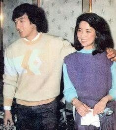Jackie Chan and Teresa Teng Action Movie Stars, Best Action Movies, Jackie Chan, Bruce Lee, Teresa Teng, Jennifer Aniston Style, Jet Li, Newly Married, Lucky Star