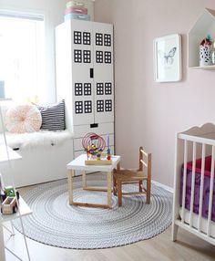 Wall Stickers Kids Ikea Hacks 32 Ideas For 2019 Ikea Pax, Ikea Stuva, Ikea Playroom, Playroom Ideas, Kids Bedroom Sets, Bedroom Ideas, Kid Spaces, Room Paint, Girl Room