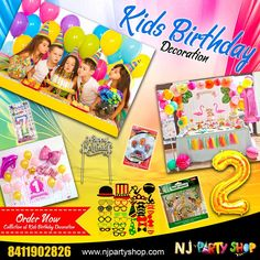 Organize the best birthday party your kid with our popular Kids Birthday Decoration Items. Birthday Decoration Items, Photo Booth Party Props, Barbie Theme, Online Party Supplies, Happy Birthday Banners, Kids Decor, Decorative Items, Organize, Popular
